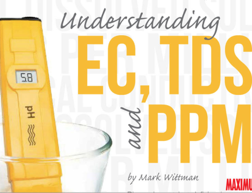 Maximum Yield: Understanding EC, TDS & PPM